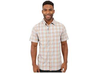 The North Face Short Sleeve Off The Grid Plaid Shirt Men's Clothing