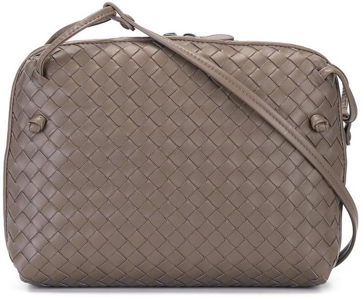Bottega VenetaBottega Veneta woven effect crossbody bag