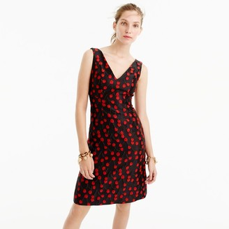 Collection jacquard sheath dress in cherry print $350 thestylecure.com