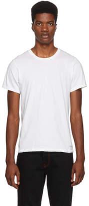 Calvin Klein Underwear (カルバン クライン アンダーウェア) - Calvin Klein Underwear ホワイト クルーネック T シャツ 3 枚セット