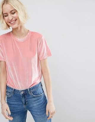 Asos Design T-Shirt in Velvet