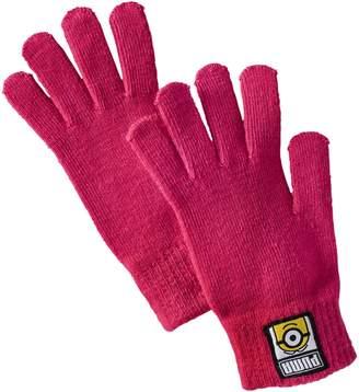 Kids' Minions Knit Gloves