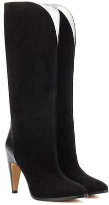 Givenchy Suede knee-high boots