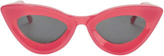 Grey Ant Iemall Pink Cat Eye Sunglasses