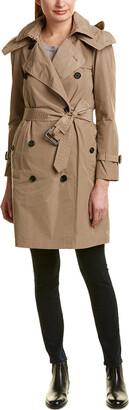 Burberry Taffeta Trench Coat