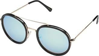 Betsey Johnson Women's Danny Round Sunglasses