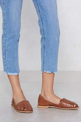 Nasty Gal One Step Ahead Leather Sandal