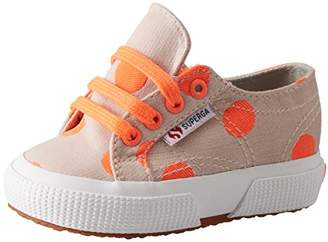 Superga Girls' 2750-COTJBIGDOTSFLUO Trainers,11UK Child