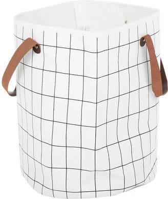 ferm LIVING Grid Organic Cotton Basket