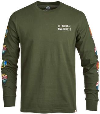 Element Men's Elemental Awareness Sleeve Graphic-Print T-Shirt