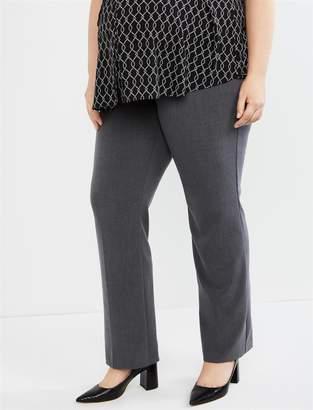 3b5553098 Motherhood Maternity Plus Size Petite Secret Fit Belly Bi-stretch Suiting  Straight Leg Maternity Pants