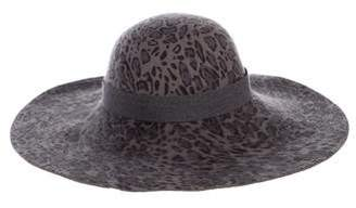 Helen Kaminski Wide-Brim Wool Hat