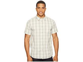 The North Face Short Sleeve Voyager Shirt (High-Rise Grey Plaid