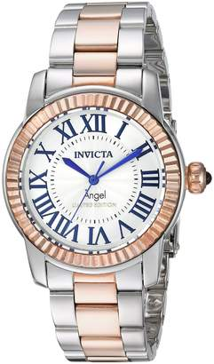 Invicta Women's Quartz Stainless Steel Casual Watch, Color:Two Tone (Model: 24619)
