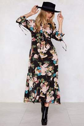 Nasty Gal No Ifs or Buds Floral Dress