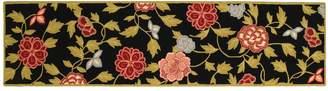 Safavieh Chelsea English Rose Framed Floral Wool Rug Runner - 2'6'' x 10'