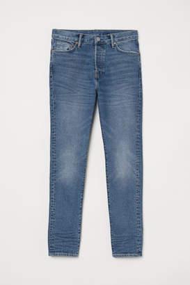 H&M Skinny Carrot Jeans - Blue