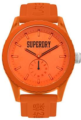 Superdry 'Tokyo' Quartz Plastic and Silicone Casual Watch