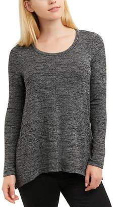 Jones New York Ladies' Long Sleeve Knit Top, Melange