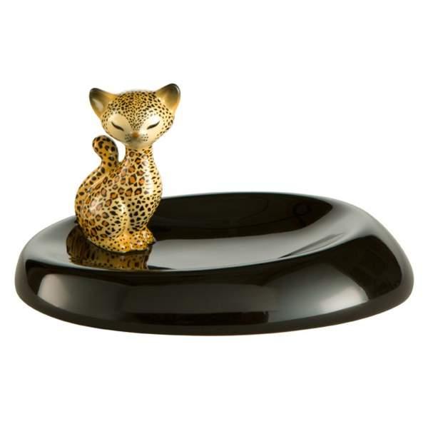 Kitty de luxe Leopard Kitty – Schale