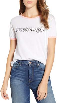 Wildfox Couture Holidazed Ringer Tee