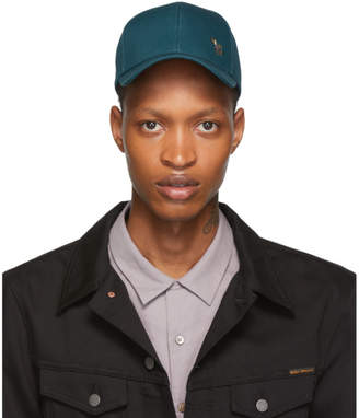 Paul Smith Blue Zebra Baseball Cap