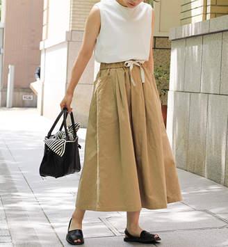 BSHOP (ビショップ) - ビショップ 【ORCIVAL】ギャザースカート OXC WOMEN