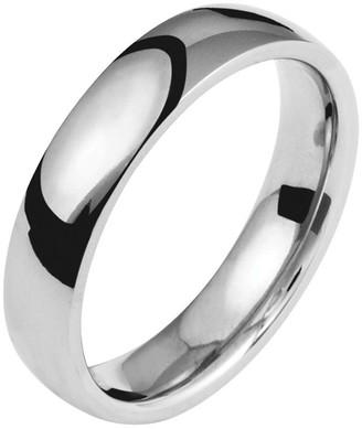 Titanium 5mm Polished Ring