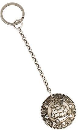 Alexander McQueenAlexander McQueen Metallic Medallion Keychain