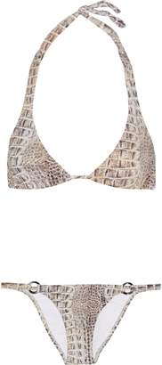 Melissa Odabash Italy Striped Triangle Bikini