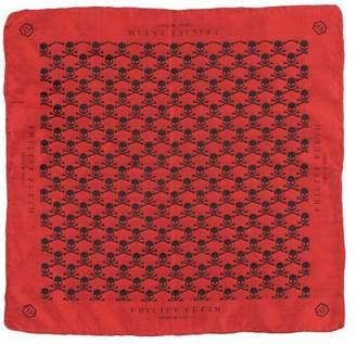 Philipp Plein Square scarf