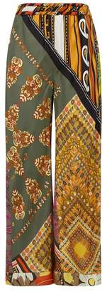 Chloé Caravane Silk Trousers