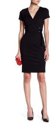 Betsey Johnson Love...Ady Ponte Short Sleeve Wrap Dress