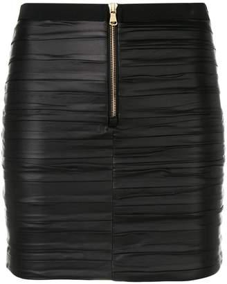 Patrizia Pepe faux leather mini skirt
