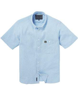 Voi Jeans Tarly Seersucker Stripe Shirt R