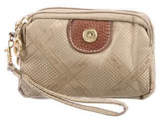 Longchamp Mini Three-Zip Clutch