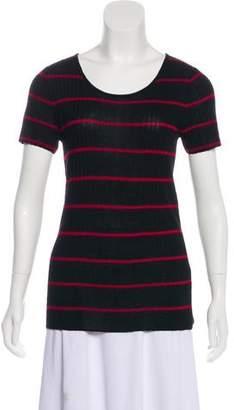 Jenni Kayne Striped Rib Knit Top w/ Tags
