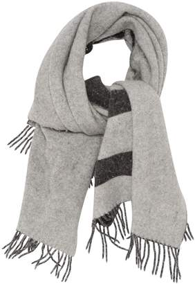 Wool scarf & pocket square