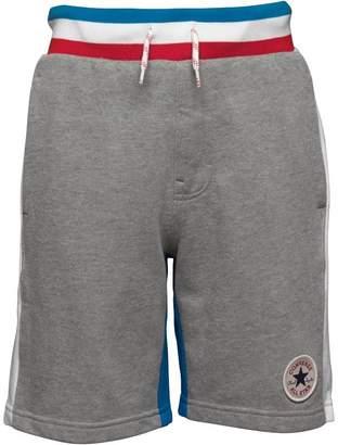 Converse Boys Colour Block Shorts Dark Grey Heather