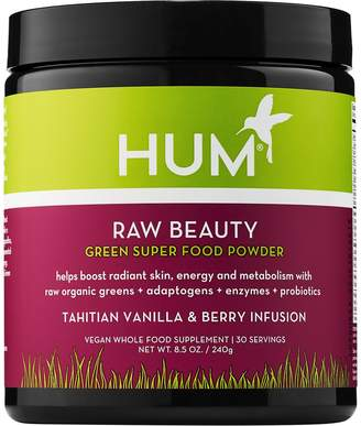 Hum Nutrition HUM Nutrition - Raw Beauty Skin & Energy Green Superfood Powder - Tahitian Vanilla Berry Infusion