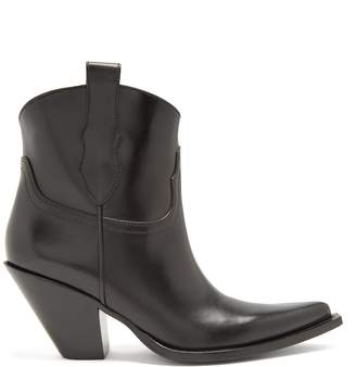 Maison Margiela Western leather ankle boots