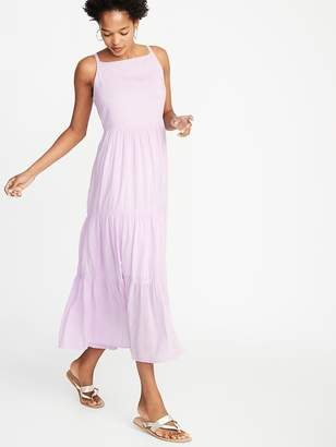 6102a64322 $44 $49.99 Old NavyTiered Fit & Flare Maxi for Women