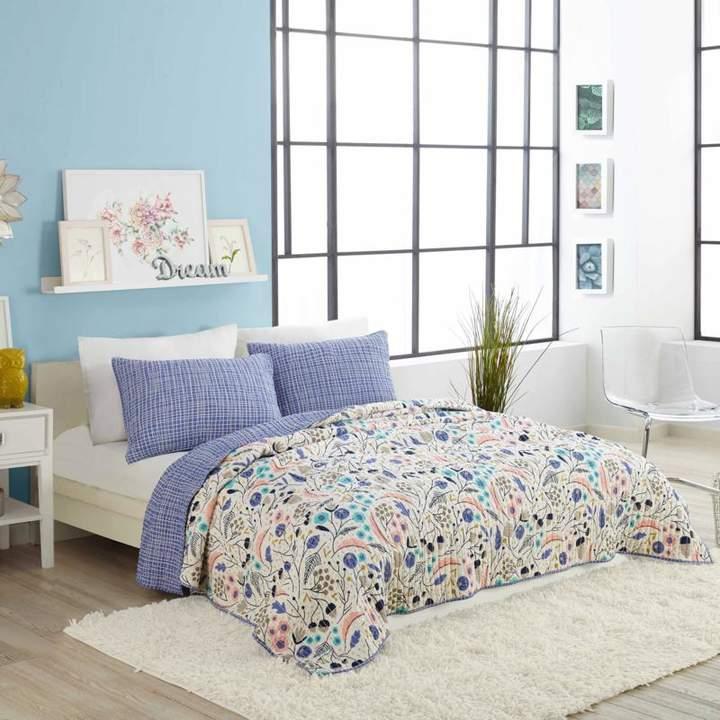 Peking Handicraft, Inc. Elizabeth Olwen Wildwood 3pc Quilt Set - Full/Queen