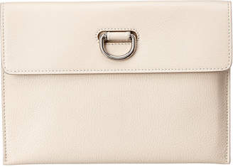 Burberry D-Ring Leather Pouch