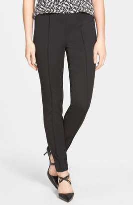 Vince Camuto Side Zip Stretch Twill Pants