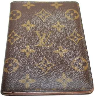 Louis Vuitton Leather card wallet