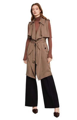 BCBGMAXAZRIA Brielle Trench Coat