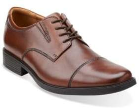 Clarks Collection By Tilden Leather Cap-Toe Oxfords