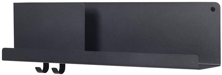 Muuto - Folded Shelves 63 x 16,5 cm, Schwarz