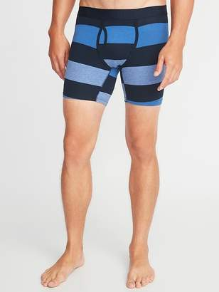 Old Navy Soft-Washed Printed Boxer Briefs for Men